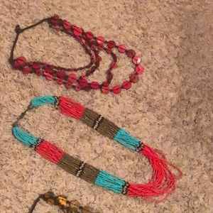 (4) Paparazzi Necklaces